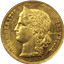Swiss Helvetica 20 Francs Gold Coin - Random Date (.1867 oz of Gold)