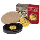 2013 1 oz Australian Proof Gold Lunar Year of the Snake (Mintage of ONLY 3,000 Coins!)