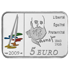 2009 5 Euro Silver Series of French Painters Claude Monet includes Box and Cert (.434 oz of silver)