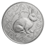 2011 5 Euro Silver Year of the Rabbit Includes Box and Cert (.6423 oz of silver)