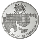 2011 10 Euro Silver Proof UNESCO Palace of Versailles Includes Box and Cert (.6423 oz of silver)