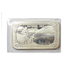 1973 Fathers Day 1 oz Silver Art Bar - Mother Lode Mint (.999 Pure)