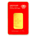1 oz Swiss Metals Gold Bar 9999 Pure