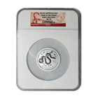 2013 2 oz Silver Australian Lunar Year of the Snake NGC MS70 Early Release