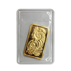 5 Gram Pamp Suisse Gold Bar (.9999 Pure)