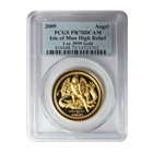 2009 Isle of Man 1 oz Proof Gold Ultra High Relief PCGS PR70 DCAM (Only 1,000 Minted!)
