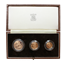1983 United Kingdom 3-Coin Proof Gold Sovereign Set - (.822 oz of Gold)
