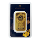 1 oz Royal Canadian Mint RCM Gold Bar (.9999 Pure In Assay Card)