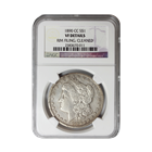 1890 CC Morgan Silver Dollar NGC VF Details (Rim Filing, Cleaned)