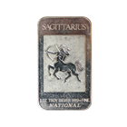 1 oz Silver Art Bar - Sagittarius Zodiac Series .999 (National Mint)