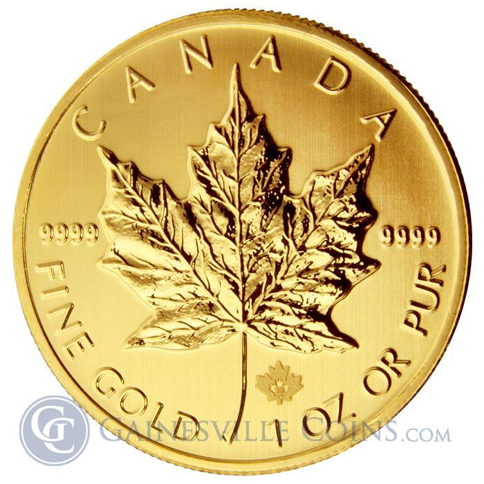 Image Showcase for 2013 1 oz Gold Canadian Maple Leaf Coin