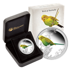 2013 Birds of Australia 1/2 oz Proof Silver Budgerigar