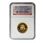 2009 Discover Australia 1/2 oz Proof Gold Kangaroo - NGC PF70 Ultra Cameo (One of First 350 Struck)