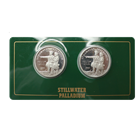 Stillwater 1/2 oz Palladium Round 2-Coin Set - Lewis & Clark (Produced by Johnson Mathey)