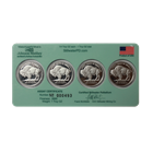 Stillwater 1/4 oz Palladium Round 4-Coin Set - Lewis & Clark (Produced by Johnson Matthey)