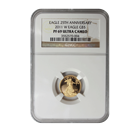 2011 W 1/10 oz Proof Gold American Eagle NGC PF69 (25th Anniversary Label)