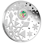 2012 Australian 1 oz Proof Silver Christmas Locket Coin