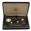 1994 Royal Hawaiian 4 Coin Proof Gold and Silver Set - King Kalakaua (Mintage of Only 950 Sets!)