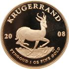 2008 1 oz Proof Gold South African Krugerrand