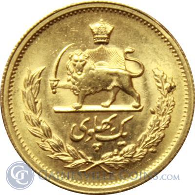 Shah of Iran Gold Coin