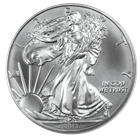 2013 1 oz American Silver Eagle Coins: Brilliant Uncirculated Condition