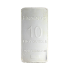 Heraeus 10 oz Silver Bar (.999 Pure)