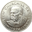 1974 Turks & Caicos 20 Crown Silver - Winston Churchill Centenary (1.15 oz of Silver)