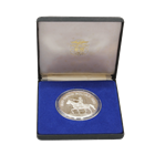 1980 Panama 20 Balboas Proof Silver Coin - Death of Simon Bolivar (With Box & COA)