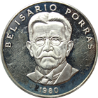 Panama 5 Balboas Proof Silver Coin - Belisario Porras (.3750 oz of Silver)