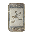 1 oz Silver Art Bar - Libra Zodiac Series .999 (National Mint)