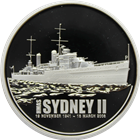 2008 Australia HMAS Sydney II - 1 oz Proof Silver Coin (With Box and COA)