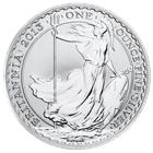 2013 1 oz Silver Britannia Bullion Coin