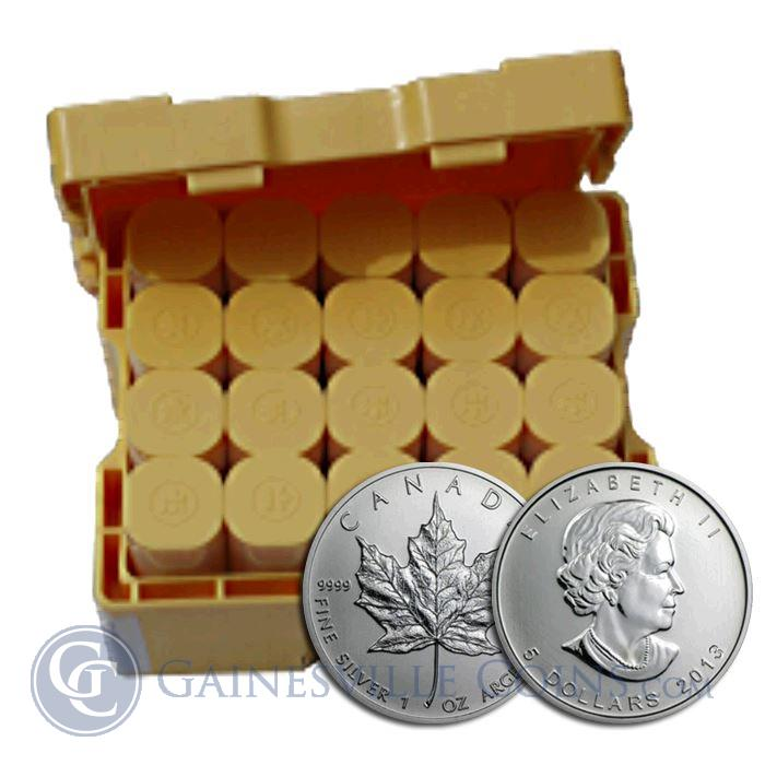"Image Showcase for 2013 Canadian 1oz Silver Maple Leaf  ""Monster Box""  Brilliant Uncirculated (500 Coins)"