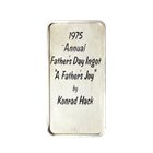 1975 Annual Father's Day 1 oz Silver - A Father's Joy (.999 Pure)