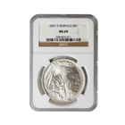 2001 D Buffalo Commemorative Silver Dollar NGC MS69