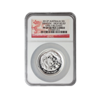 2012 Perth Mint High Relief Silver Dragon NGC PF69 Early Releases