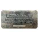 10 oz National Refiners-Assayers Silver Bar (.999 Pure)