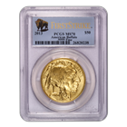 2013 1 oz American Gold Buffalo PCGS MS70 - First Strike