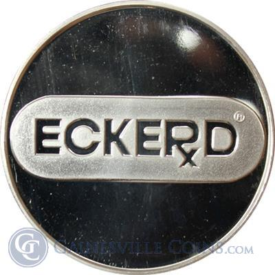 Eckerd Drug Photo 1 oz Silver Art Round .999 Pure