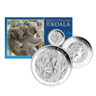2013 1/10 oz Silver Koala - In Card