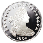 1 oz Silver Round | Liberty Draped Bust Design (.999 Pure)