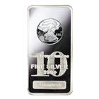 10 oz Silver Bar | Walking Liberty Design (.999 Pure)
