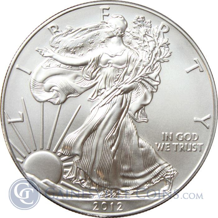 Image Showcase for 2012-W Burnished 1 oz American Silver Eagle | With Box & COA