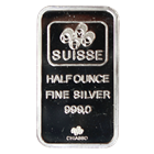 1/2 oz PAMP Suisse Silver Bar | Fortuna