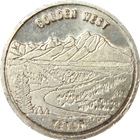 1 oz Silver Swiss Of America | Golden West Teton (.999 Pure)