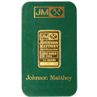 Johnson Matthey 2.5 gram Gold Bar | Sealed In Assay Card (.9999 Pure)