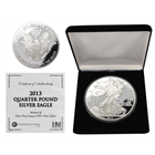 2013 4 oz Walking Liberty Silver Round (With Box & COA) .999 Fine Silver