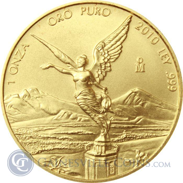 Image Showcase for 2010 1 oz Gold Mexican Libertad