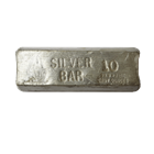USS Constitution 10 oz Silver Bar (.999 Pure Silver)