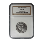 2005 1/2 oz $50 Platinum American Eagle NGC MS70